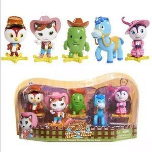 Disney Je. Sheriff Callie's Wild West 5 Pc Figures